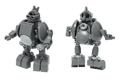 Chicken Stomper (pasukaru76) Tags: lego space moc hardsuit sigma105mm