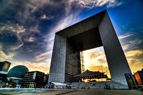 La Grande Arche de la Défense...