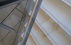 ?Thongs (Kalyna Harasymiv) Tags: reflection feet stairs mirror ghost steps thongs kalyna canberragalleryportraitartsculpture