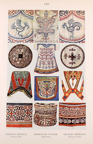 017- Pueblos Siberianos principios siglo XX-Ornament two thousand decorative motifs…1924-Helmuth Theodor Bossert