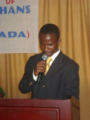"Programs Director Delivery his speech at the HIV/AIDS project Launch • <a style=""font-size:0.8em;"" href=""http://www.flickr.com/photos/48668870@N02/4548127883/"" target=""_blank"">View on Flickr</a>"