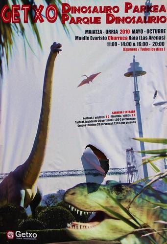 Parque Dinosaurio en Getxo