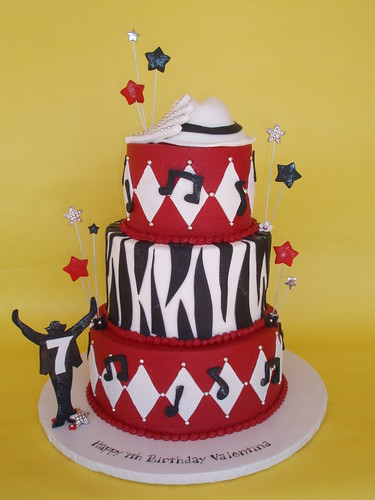 Michael Jackson Inspired Birthday Cake