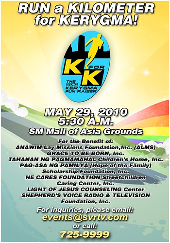 K for K: Run a Kilometer for KeryGma
