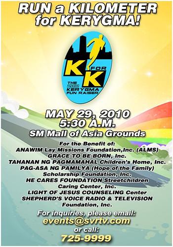 K for K: Run a Kilometer for KeryGma