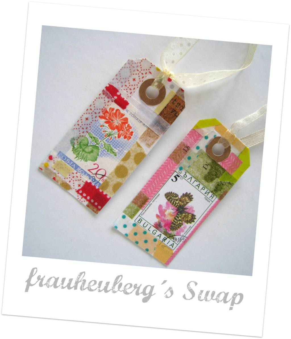 frauheuberg swap...two little handmade tags