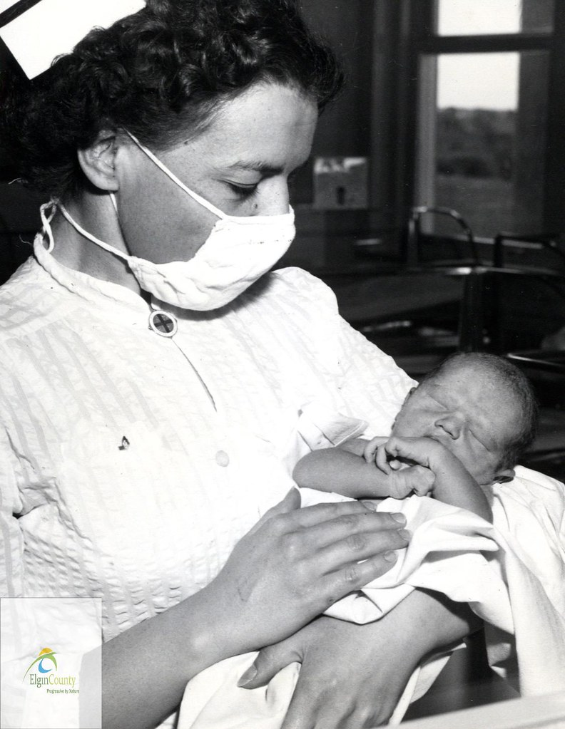First Baby Born at St. Thomas-Elgin General Hospital, 1954