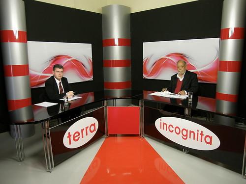 Ο Τάσος Βαβατσικλής στην εκπομπή Terra Incognita