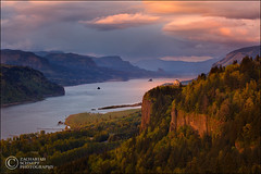 Renaissance Light in the Gorge (Zack Schnepf) Tags: sunset beautiful oregon photoshop canon river landscape bravo rich icon columbia explore gorge crownpoint frontpage renaissance columbiarivergorge vistahouse cs5 5dmarkii 5d2