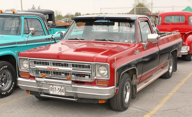 stirlingfleamarket2010 1979gmcpickup ©richardspiegelmancarphoto