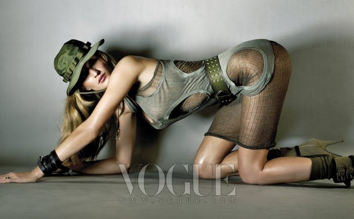 VOGUE  GISELE BUNDCHEN by NINO MUNOZ  9