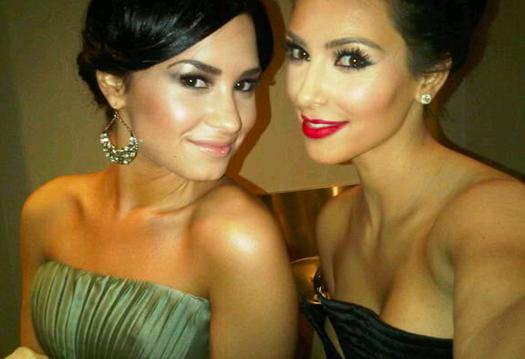 Demi-Lovato-Kim-Kardashian