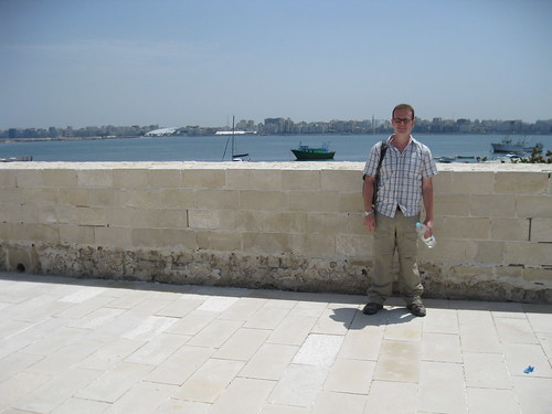 Qaitbay Fort and the Mediterranean