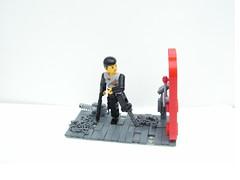Red Door (Cyryl K.) Tags: lego space figure scifi raven technicfig