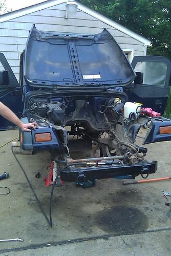 removed the 2 5l 4cyl middot cummins 4bt diesel jeep wrangler tj jeep wrangler tj wiring harness