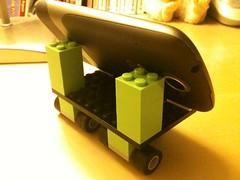 LEGO nexus one stand