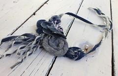 Jeans, vai com tudo! (Retalhos e Cia) (Acessórios Gisele Moura) Tags: blue azul necklace moda artesanato artesanal indigo bijuteria jeans botão fuxico estilo accessories trapo colar tecido rolha malha retalho retalhos madreperola trapilho acessóerios