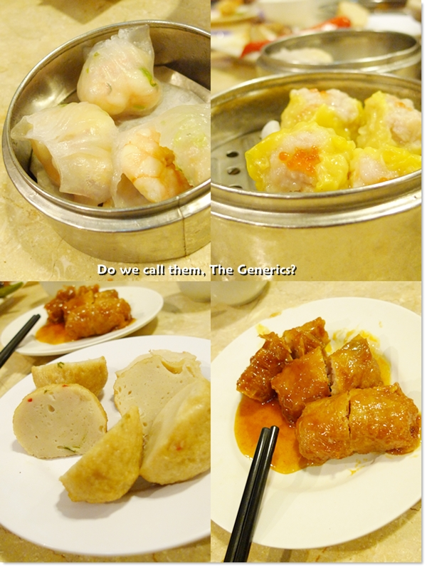 Har Gau, Siew Mai, Fish Ball, Sweet Rolls