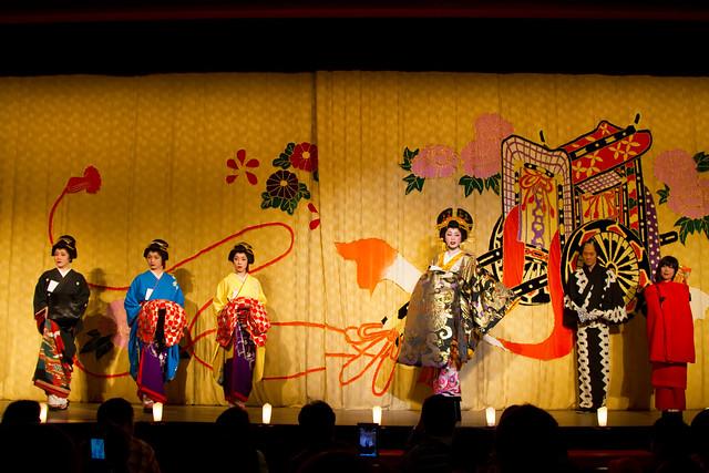 「Edo Wonderland」Oiran Parade