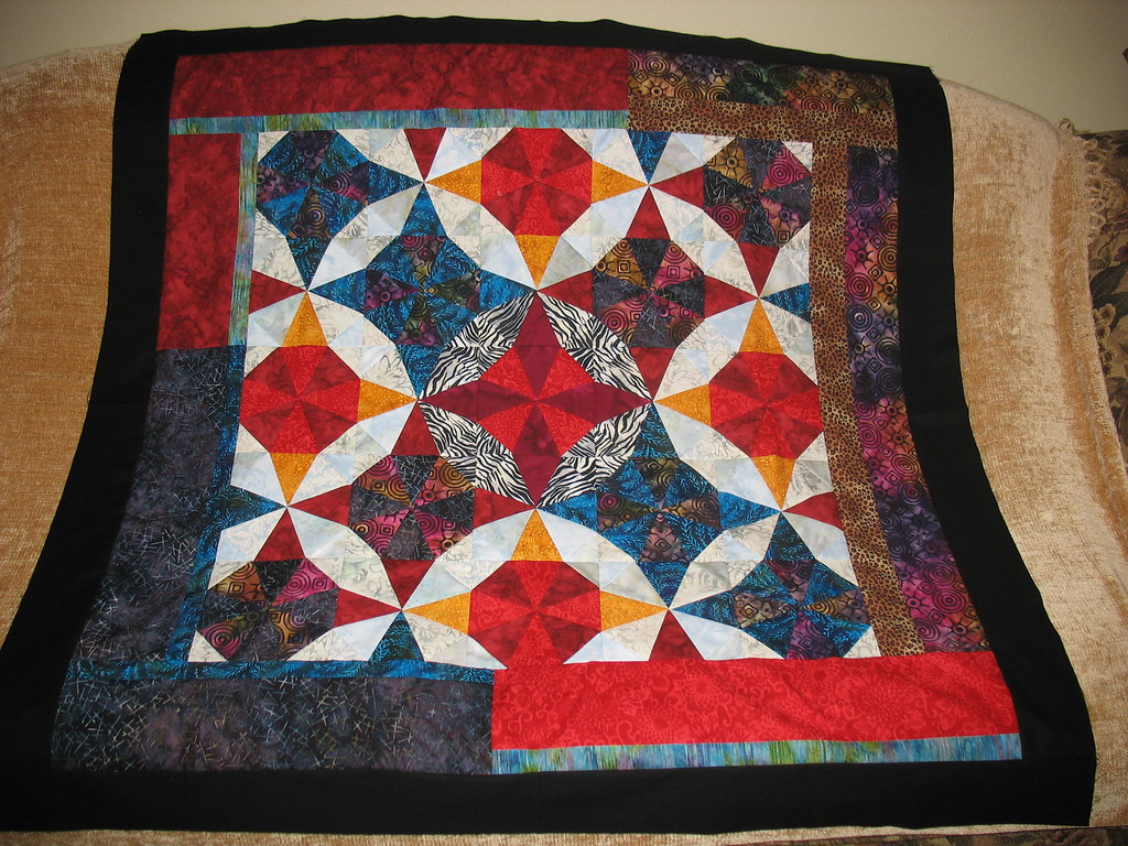 Blood on the Dance Floor Tribute Quilt