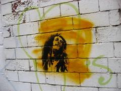 bob (ruminatrix) Tags: stencil reggae stencilart bobmarley streetartglasgow