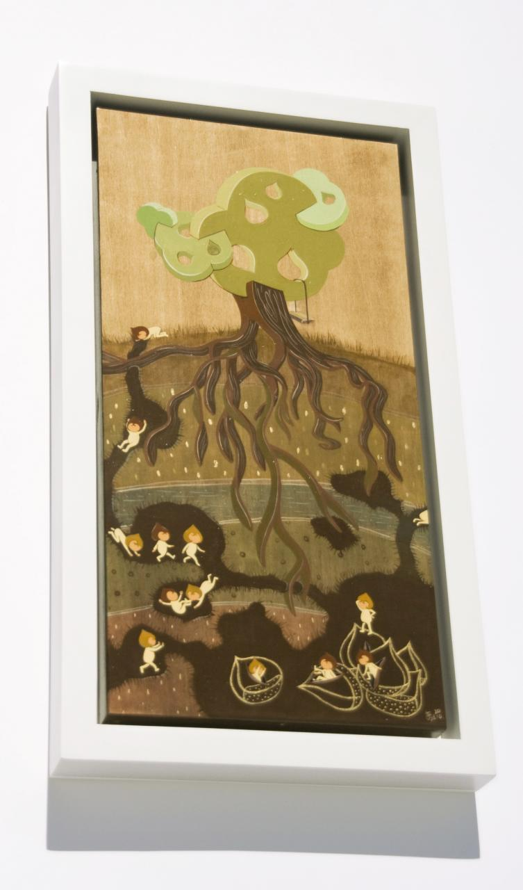 "Chestnut Tree (Framed) for ""TREE SHOW VI"" at GRSF"