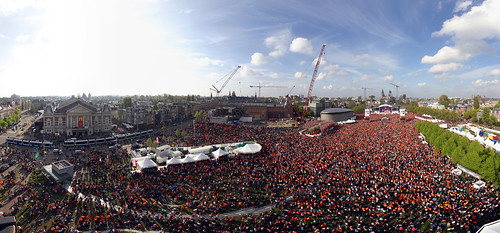 Queensday 2010 Museumplein view