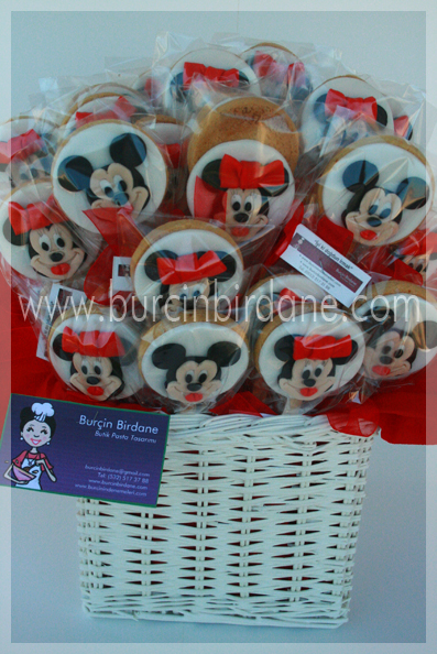 Minnie Mickey Mouse Cookie