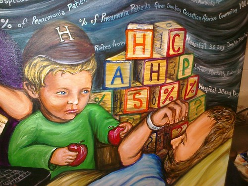 HCAHPS % by Regina Holliday.