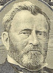 U.S. Grant portrait on $50 bill