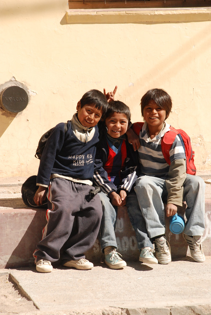 Children in San Antonio de los Cobres