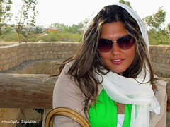 Majoodeh(2) (Moustapha B) Tags: travel portrait eye smile iran memories kish 2008  jordanian      canong9  majoodeh