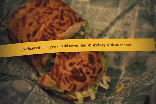{136:365} Sandwich of Wisdom