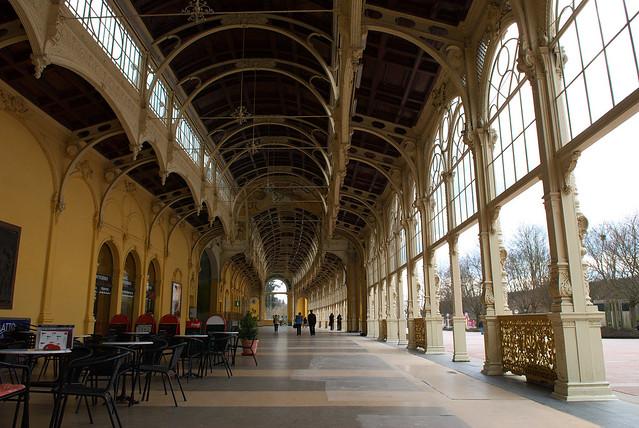瑪麗安司凱 Marianske Lazne:迴廊內部