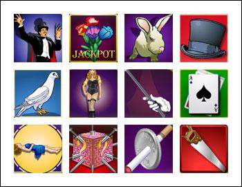 free Money Magic slot game symbols