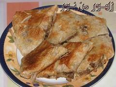 شاورما عربي بالجبنة لـ زهور من نور (sanabesCooking) Tags: