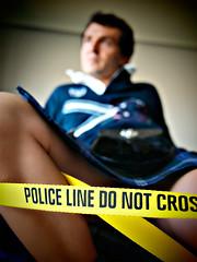 Police line - Do not cross (Petit Homenet) Tags: kilt policeline crimescene donotcross escoces upkilt upthekilt upyerkilt debajodelafaldaescocesa bajolafaldaescocesa bajoelkilt