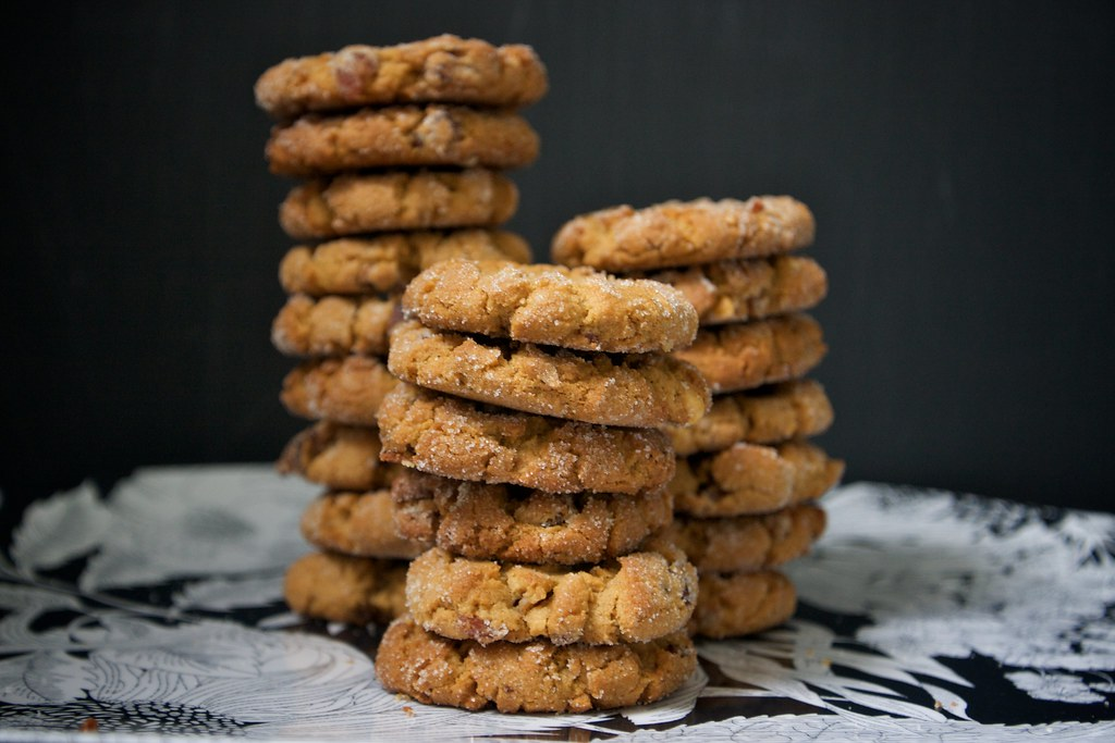 Peanut Butter Bacon Cookies - Shutterbean