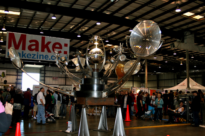 Maker Faire sculpture