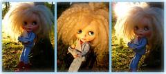 Dusky Ducky (LadyGuinevere!) Tags: vintage boat miniature nemo dusk ooak navy barbie skipper ducky mohair blythe sailor custom licca picnik clogg rbl vintageskipper landsea frfr friendlyfreckles