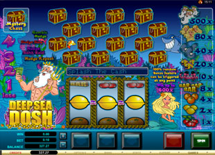 Deep Sea Dosh slot game online review