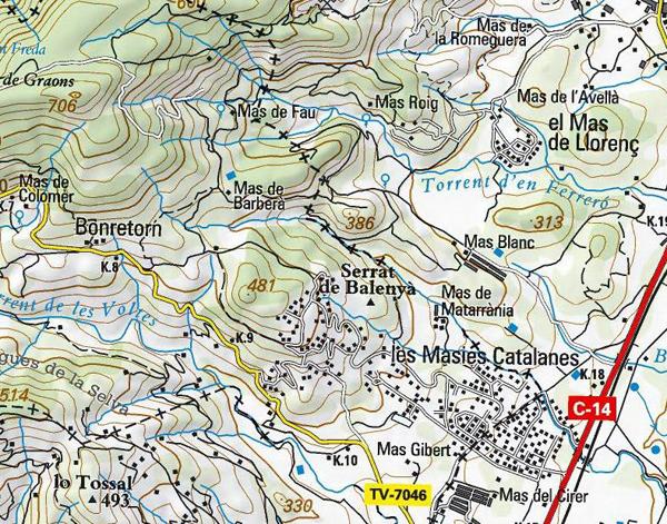 Mapa Bonretorn 2