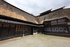 Japanese traditional style farm house / () (TANAKA Juuyoh ()) Tags: house home architecture japanese design high ancient exterior folk farm traditional style hires iwate resolution 5d hi residence res   markii   tohno        chibake           toonoshi
