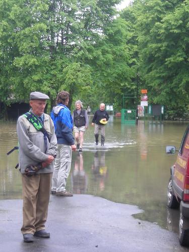 1 Zakole Wisly po powodzi