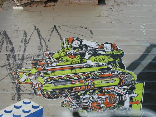 Wheatpaste Cambridge Wall