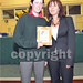 School Completion Programme Award presented by Sharon Walsh (SCP)  to Pamela Cullen