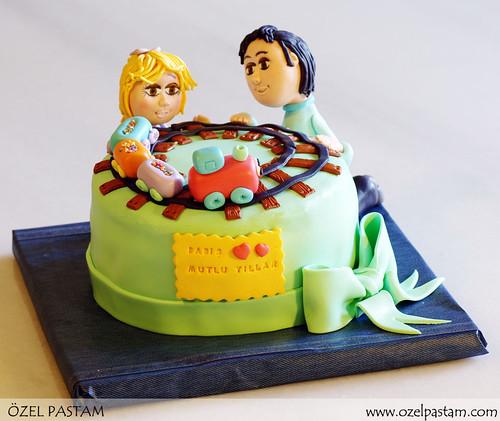 Baba Kız Tren Pastası
