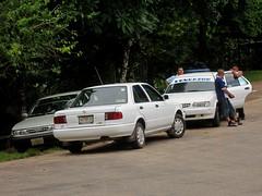 Aqua Azul 021 - The local taxi mafia waiting for business (Ben Beiske) Tags: mexico chiapas mexiko aquaazul