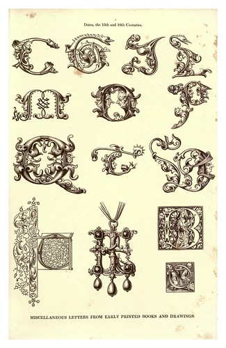 016-Siglo XV y XVI-The hand book of mediaeval alphabets and devices (1856)- Henry Shaw