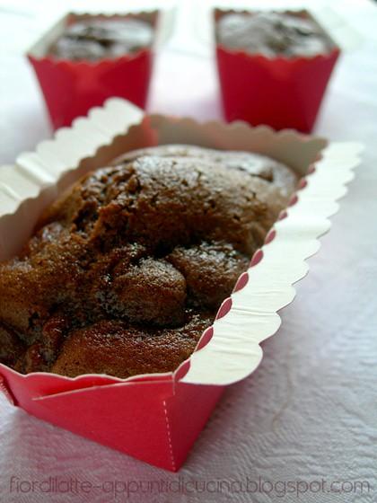 Mini cake alle ciliegie e cacao